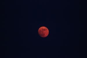 Partial lunar eclipse 2011